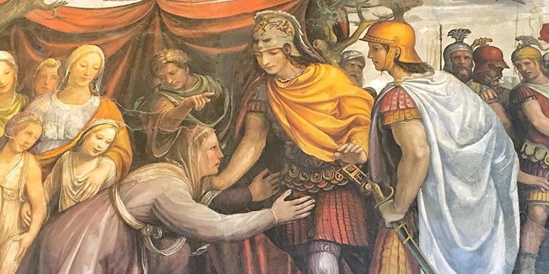 Alexander the Great, Villa Farnesina Rome