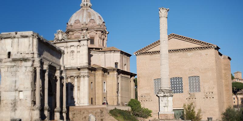 Column of Phocas in the Roman Forum