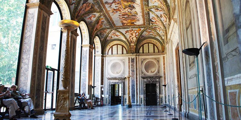 Lodge of Cupid and Psyche, Villa Farnesina