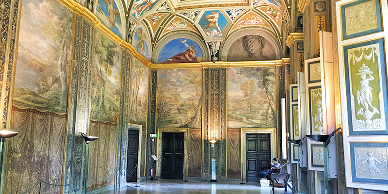 Lodge of Galatea, Villa Farnesina Rome
