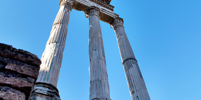Temple of Castor & Pollux, Roman Forum
