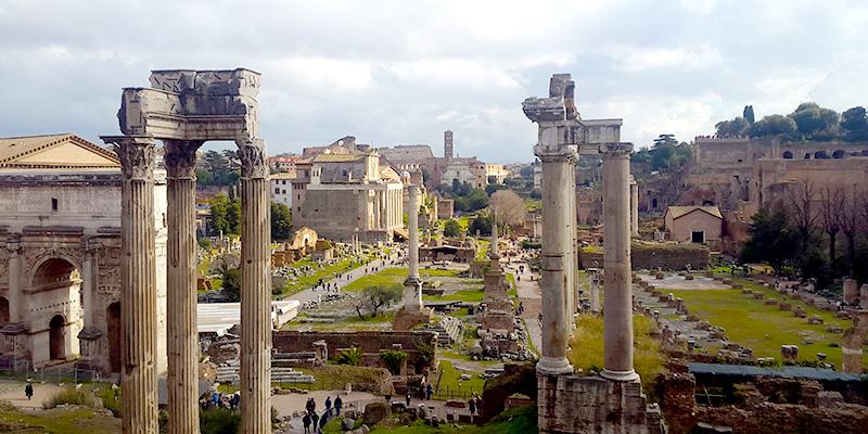 The Comitium in the Roman Forum