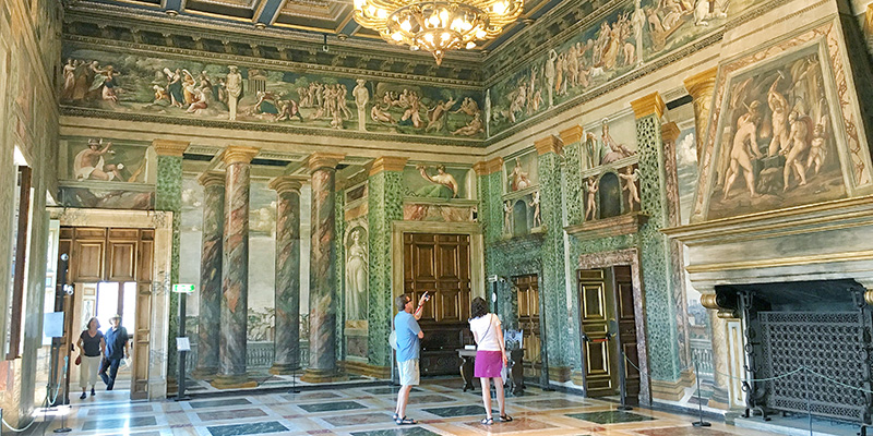 The Banquet Room, Villa Farnesina Rome