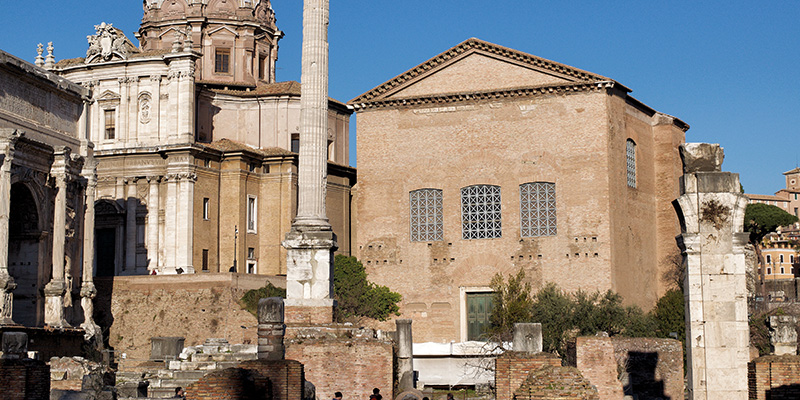 Curia Julia in the Roman Forum