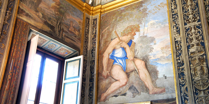 Lodge of Galatea Villa Farnesina Rome Frescoes