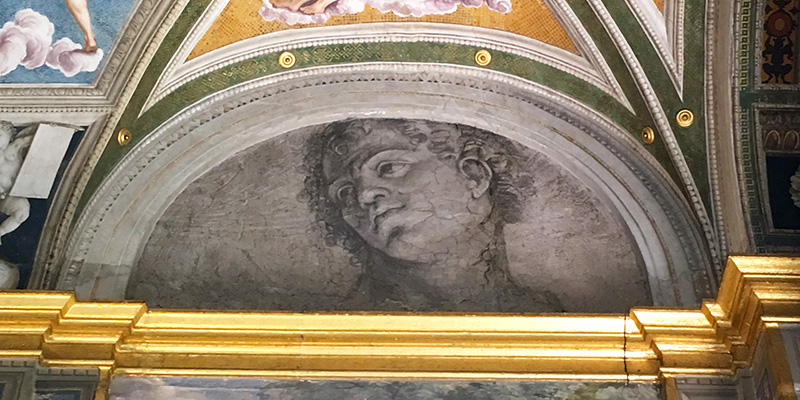 Peruzzi's frescoes in Villa Farnesina