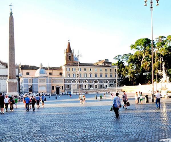 Obelisk Seti I Piazza del Popolo