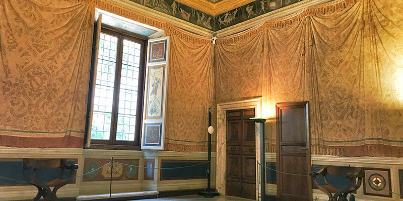 The Room of the Frieze, Villa Farnesina Rome
