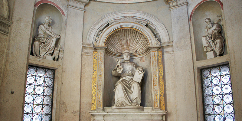 St Peter's Statue, San Pietro in Montorio Rome