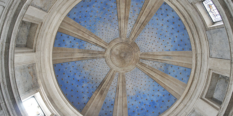 Dome of Tempietto, San Pietro in Montorio Church